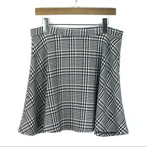 AMERICAN APPAREL | Houndstooth Circle Skirt